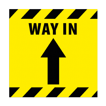 Way In - 350mm Square